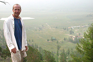Mark Hintzke head of Cultural Restoration Tourism Project in Mongolia  by Ron Gluckman