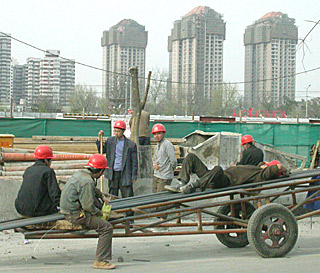construction in beijing china by ron gluckman